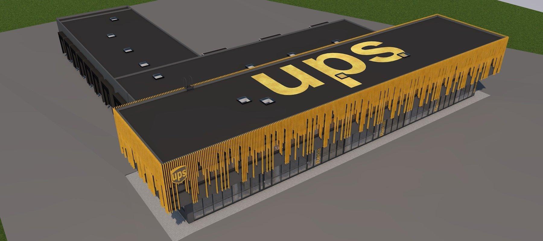 UPS Büroo- ja logistikakeskus